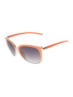 Очки солнцезащитные Migura. Цвет: белый, коричневый, оранжевый