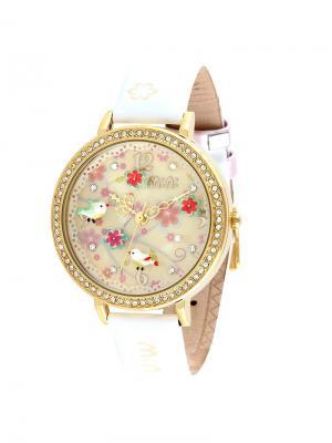 Наручные часы MN1065 Mini.. Цвет: золотистый, белый