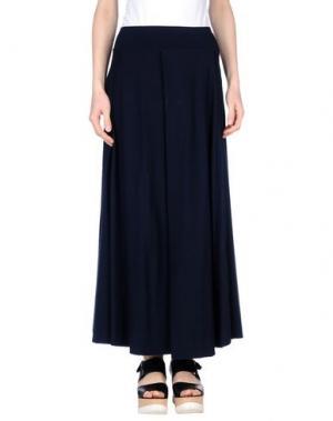 Длинная юбка LABO.ART. Цвет: темно-синий