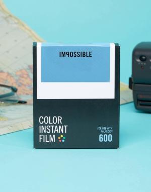Polaroid Originals Цветная пленка для фотокамеры серии 600 Impossible Project. Цвет: черный