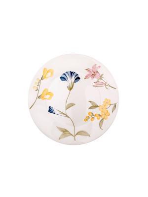 Набор тарелок десертных МАЙ 19 см 6 шт Biona. Цвет: белый