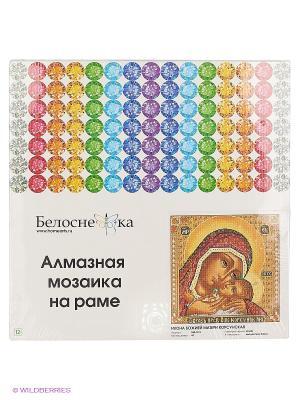 Мозаика на подрамнике. Икона Божией матери  Корсунская (068-ST-S) Белоснежка. Цвет: коричневый