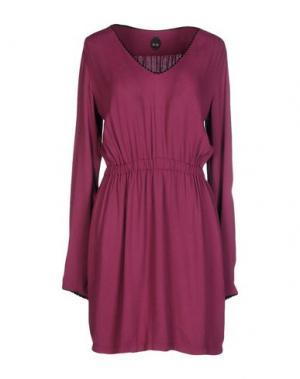 Короткое платье NOLITA. Цвет: фиолетовый