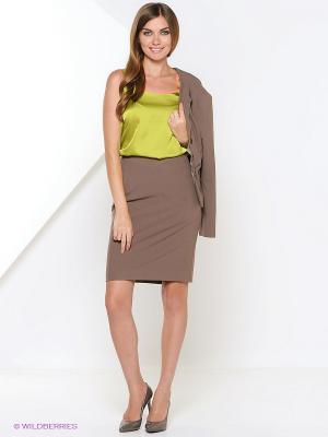 Блузка Арт-Деко. Цвет: зеленый