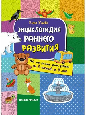 Энциклопедия раннего развития: все, что должен знать ребенок от 6 месяцев до 3 лет Феникс-Премьер. Цвет: белый