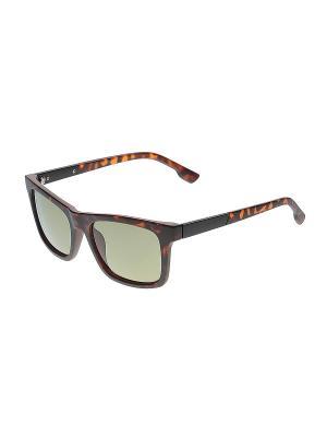 Солнцезащитные очки Infiniti. Цвет: коричневый