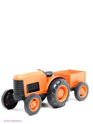 Игрушка Трактор Green Toys. Цвет: оранжевый, черный