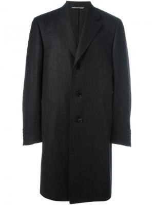 Водонепроницаемое пальто Canali. Цвет: серый