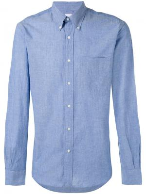 Chest pocket shirt Aspesi. Цвет: синий