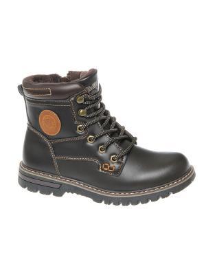 Ботинки Сказка. Цвет: коричневый