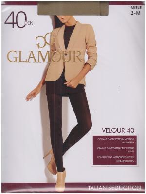 Колготки Velour Glamour. Цвет: бежевый