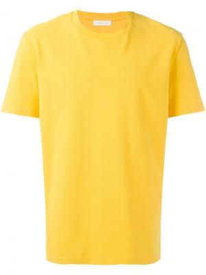 Классическая футболка Futur. Цвет: жёлтый и оранжевый