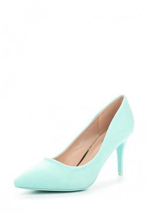 Туфли Ideal Shoes. Цвет: бирюзовый
