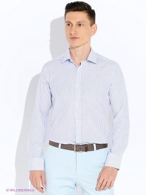 Рубашка BAWER. Цвет: фиолетовый