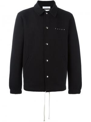Спортивная куртка с логотипом Futur. Цвет: чёрный