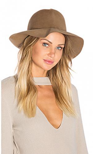 Шляпа из роскошного фетра crushable Hat Attack. Цвет: коричневый
