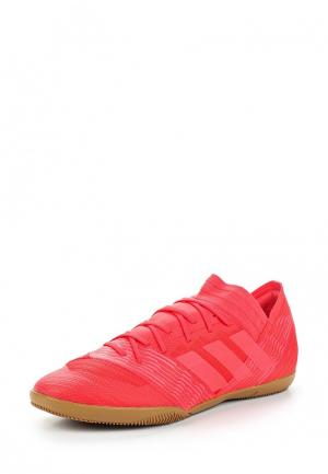 Бутсы зальные adidas. Цвет: красный