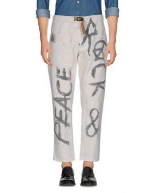 Повседневные брюки WHITE SAND 88. Цвет: светло-серый