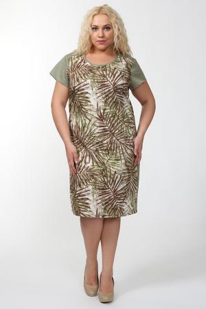 Платье QNEEL Q'NEEL. Цвет: хаки