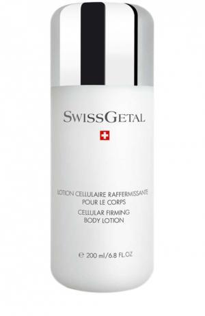 Молочко для очистки кожи лица Swissgetal. Цвет: бесцветный