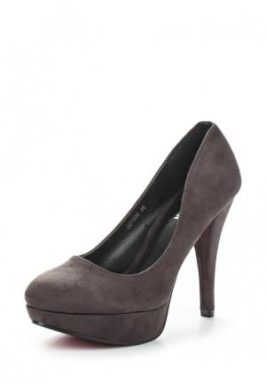 Туфли Malien. Цвет: серый