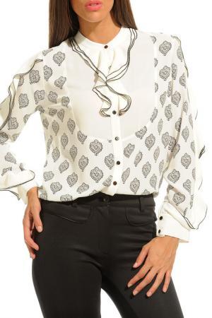 Блуза JUS DE POMMES. Цвет: белый