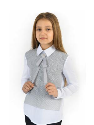 Блузка Enfant sage. Цвет: белый