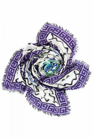 Платок Mary Katrantzou. Цвет: фиолетовый