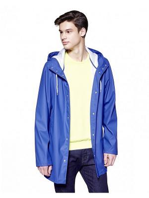 Дождевик United Colors of Benetton. Цвет: темно-синий, синий, голубой