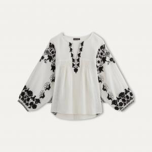 Блузка KAPPA ANTIK BATIK. Цвет: кремовый