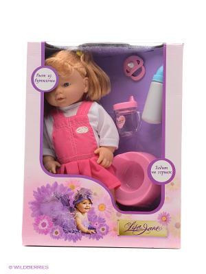 Кукла-пупс  38см Lisa Jane. Цвет: розовый