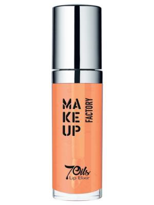 Масло Make up factory. Цвет: прозрачный, оранжевый