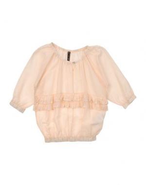 Блузка MANILA GRACE. Цвет: песочный