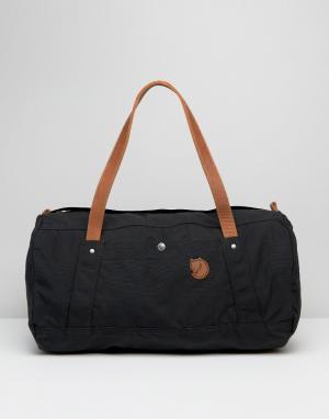 Fjallraven Черная сумка No.4 30 л. Цвет: черный