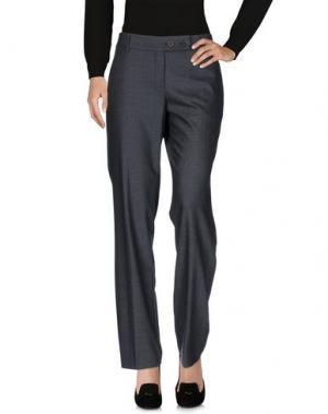 Повседневные брюки GUNEX. Цвет: стальной серый