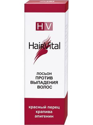 Лосьон против выпадения волос 50 мл Hair Vital. Цвет: красный, белый