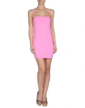 Пляжное платье AGOGOA. Цвет: розовый