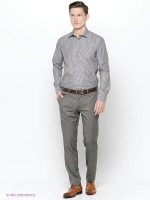 Рубашка Hans Grubber. Цвет: темно-серый