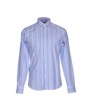 Pубашка PAOLONI. Цвет: небесно-голубой