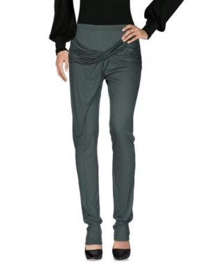 Повседневные брюки ANNE VALERIE HASH. Цвет: зеленый