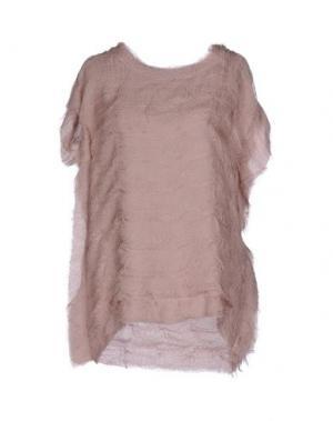 Блузка METRADAMO. Цвет: пастельно-розовый