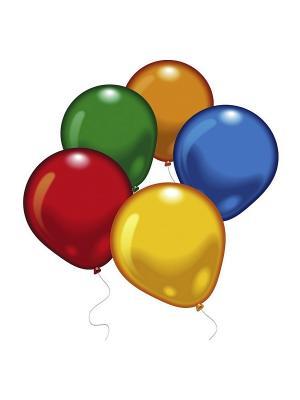 10 шариков (разноцв.) Everts. Цвет: темно-красный