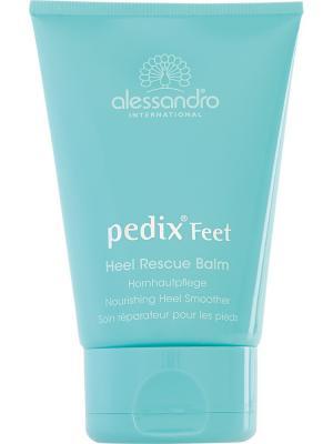 Крем для сухой кожи ног Heel Rescue Balm alessandro. Цвет: морская волна