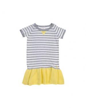 Платье BONNIE BABY. Цвет: желтый