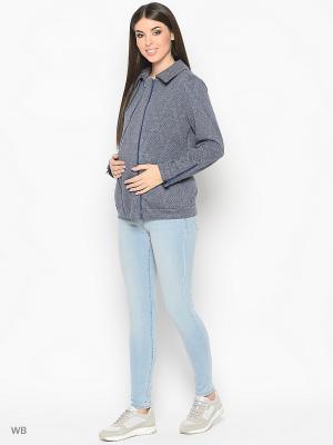 Куртка Trendy Tummy. Цвет: темно-синий