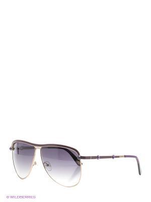 Солнцезащитные очки BLD 1528 103 Baldinini. Цвет: фиолетовый, золотистый