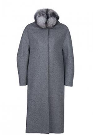 Пальто DIEGO M. Цвет: серый