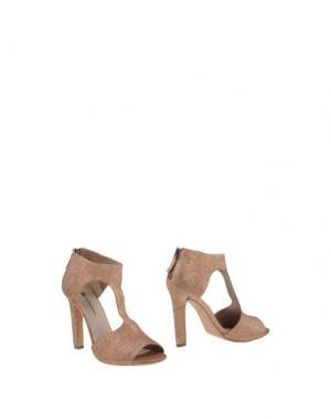 Ботинки EL. Цвет: медный