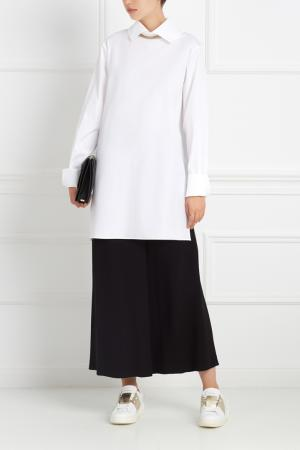 Хлопковая рубашка Cap Ferrat MoS. Цвет: белый