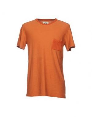 Футболка MOLO ELEVEN. Цвет: оранжевый